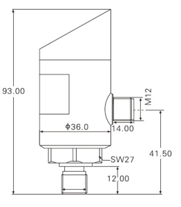 2Flow tryckgivare med display och reläfunktion