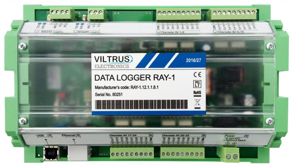 Data logger Gateway RAY-1 Viltrus
