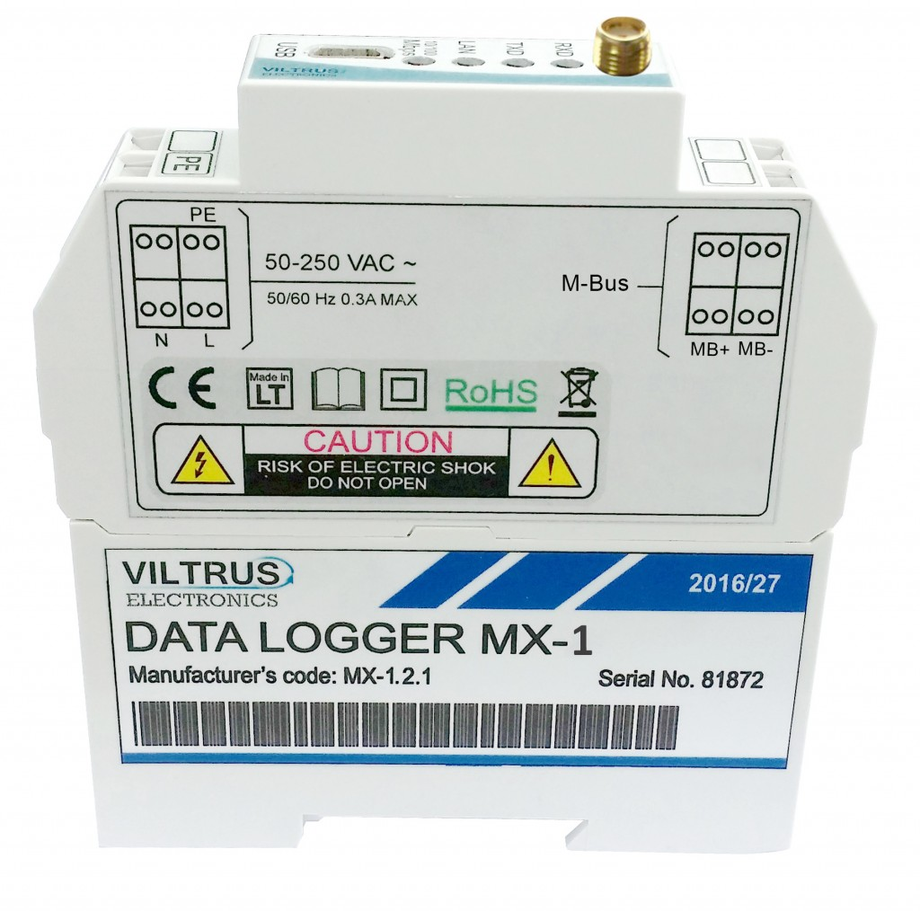 MX1 data logger Viltrus